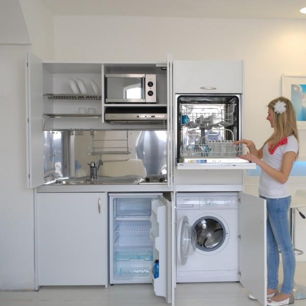 Cucina armadio : la cucina armadio a scomparsa - Immobil Social