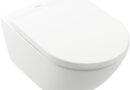Un bagno bello, pulito, a risparmio idrico è possibile con il nuovo sistema di scarico TwistFlush di Villeroy & Boch